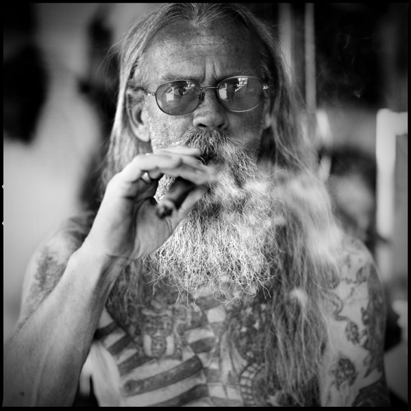 American Biker Project - Black and White Portraits