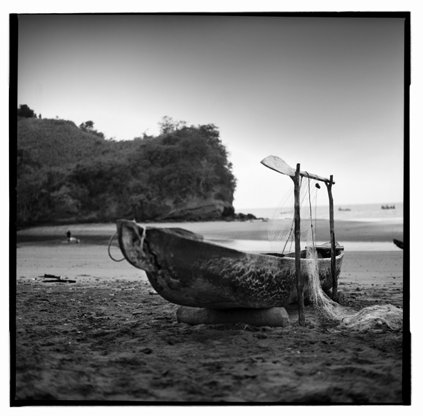 Black and White Photos of Old Boats