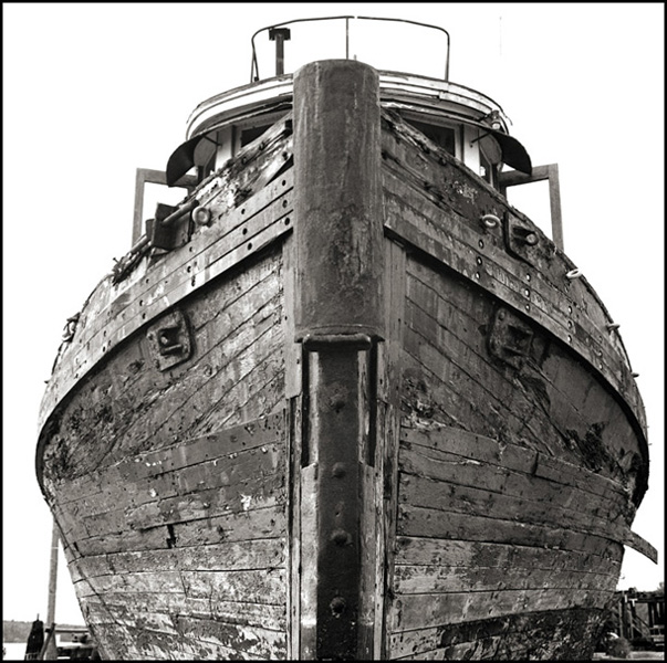 Shipwrecks - Black and White Photographs