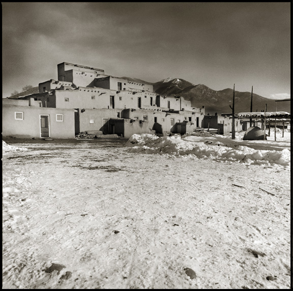 Pueblos of New Mexico - Black and White Photographs