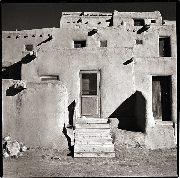 Taos Pueblo - Black and White Photographs