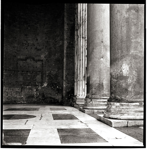 Black and White Photographs of the Pantheon