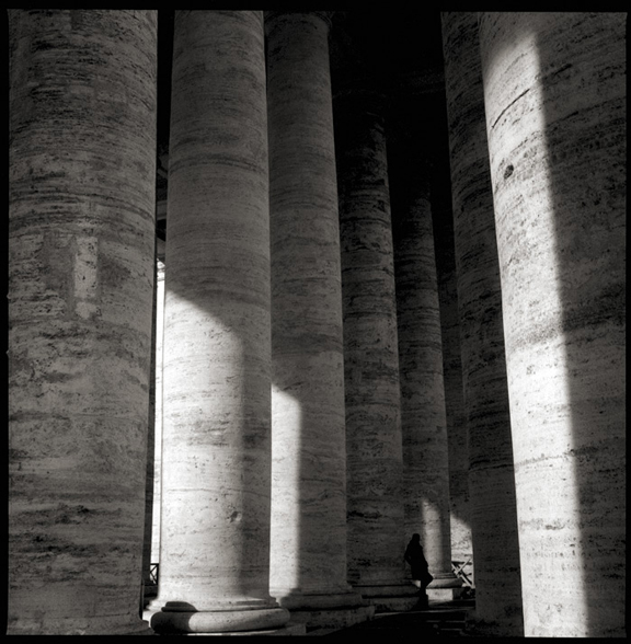 Black and White Photographs of the Vatican